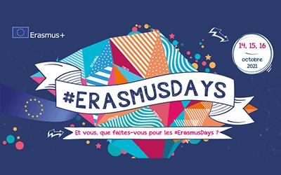 #ERASMUSDAYS 2021 : VERS L'EUROPE ET AU-DELÀ !